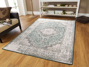 New traditional distressed grey blue rugs 5x8 for Sale in Baltimore, MD