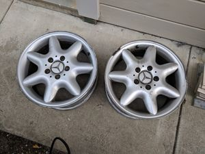 "Mercedes-Benz C Class 16"" OEM Alloy Wheels 2001-2004 #2034010302 for Sale in Hillsborough, CA"