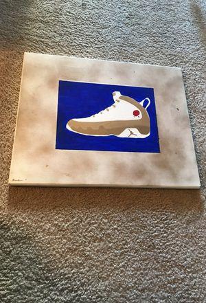 Jordan Bin 9 inspired painting for Sale in San Diego, CA