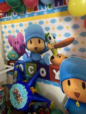 Pocoyo party for Sale in Moreno Valley, CA