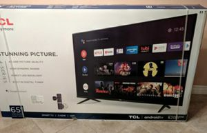 Tv 65 tcl smart tv for Sale in CRYSTAL CITY, CA