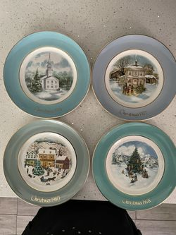 Vintage Avon Christmas Plates for Sale in Los Angeles,  CA