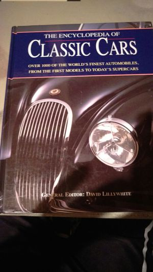 Encyclopedia of classic cars book for Sale in Appleton, WI