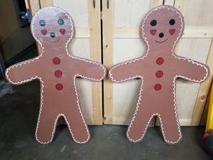 Gingerbread Man - Christmas, Wood, Handpainted for Sale in Azusa, CA