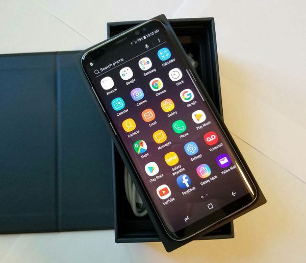 Samsung Galaxy S 8 , UNLOCKED . Excellent Condition ( as like New)
