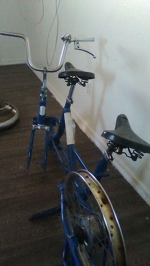 1960 teodoro veneti tendem folding bike for Sale in Phoenix, AZ