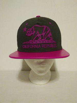 California Cali Bear Republic snap back hats flat bill. for Sale in Sacramento, CA