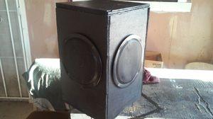 SPEAKER BOX....2 5X7S....BLACK for Sale in Phoenix, AZ