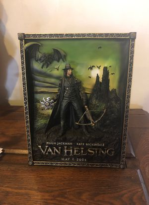 Code 3 Collectibles Van Helsing 3D resin poster statue for Sale in Altadena, CA