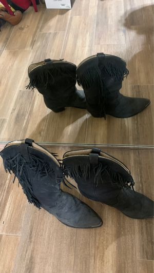 Vintage Black Boots for Sale in Phoenix, AZ