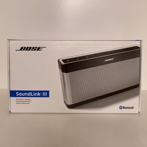 Bose Soundlink III Brand New Unopened Box for Sale in San Jose, CA