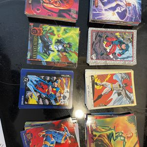 Assorted marvel And DC Cards for Sale in Branford, CT