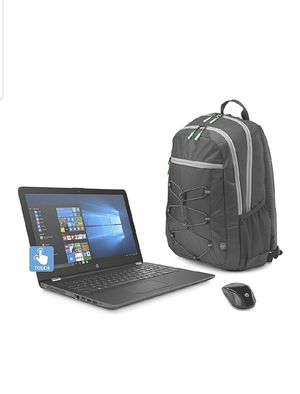 Brand new in packaging HP laptop with backpack and wireless mouse for Sale in Azusa, CA