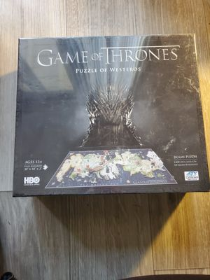Game of thrones puzzle new for Sale in Louisville, KY