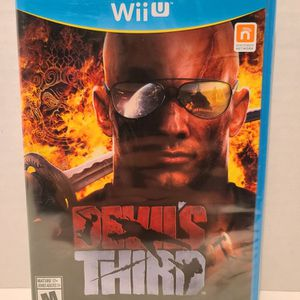 Devils Third For The Nintendo Wii U. New! for Sale in Randolph Air Force Base, TX