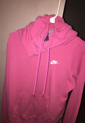 Size L pink nike hoodie women's for Sale in Brice, OH