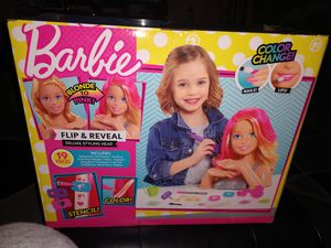 Barbie Styling Head for Sale in Bangor, ME