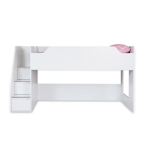 South Shore Furniture twin loft top bed 39 inch and ladder