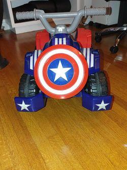 Captain America Power Wheels Quad for Sale in Long Beach,  CA