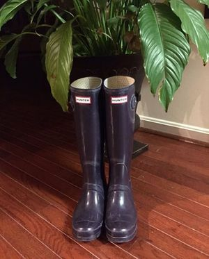 Plum Hunter Rainboots for Sale in Arlington, VA