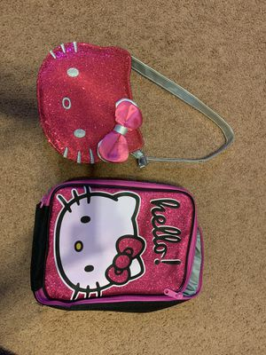 Hello kitty purse and lunch box for Sale in Homestead, PA