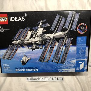 LEGO 21321 International Space Station Set New/Sealed IN HAND for Sale in Hallandale Beach, FL