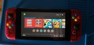 Nintendo switch watermelon red + 128gb SD card for Sale in Modesto, CA