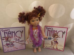 Fancy Nancy doll plus two books for Sale in Annandale, VA