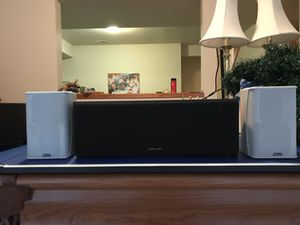 Center channel and surround speakers for Sale in Tacoma, WA