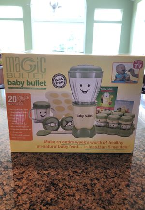Magic baby bullet and turbo steamer set! for Sale in Adamstown, MD