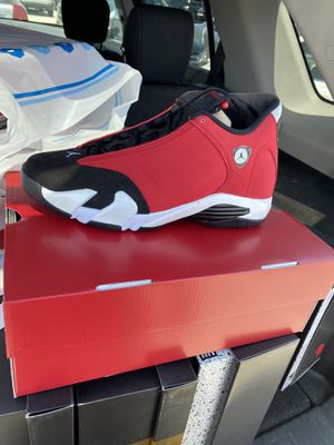 Brand new air Jordan retro 14 gym red sizes (10.5)IN HAND for Sale in Evesham Township, NJ