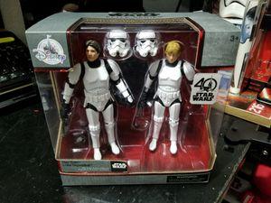 Star Wars Luke Skywalker and Han Solo diecast action figures for Sale in Mount Hope, KS