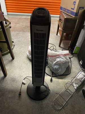 "31"" Oscillating Tower Fan Black - Holmes for Sale in Houston, TX"