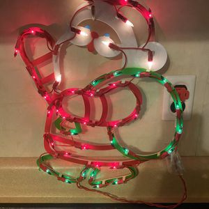 Lighted Santa And Snowman Decoration for Sale in Aliquippa, PA