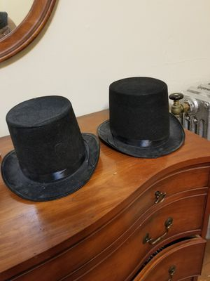 Two Costume top hats for Sale in Cleveland Heights, OH