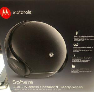 Motorola Sphere, headphones and wireless speakers for Sale in Lakewood, CA