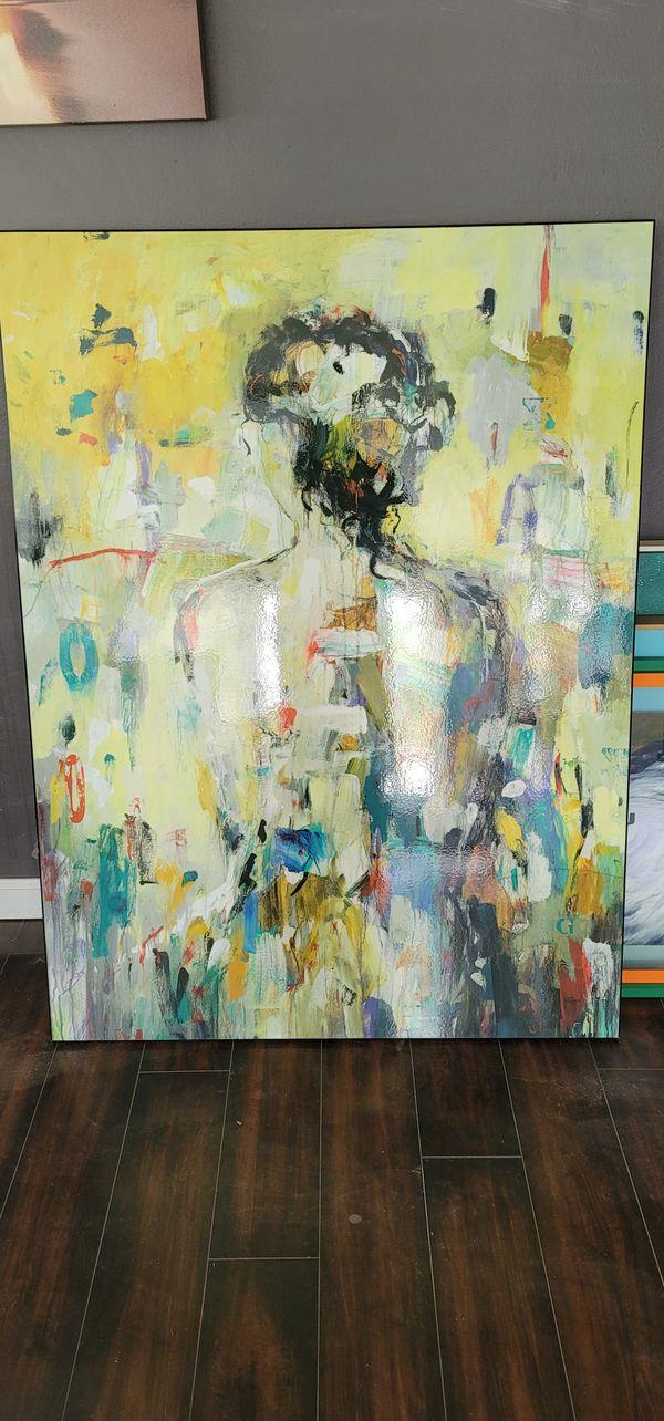 "Painting - Art - Wall Art - Lisa Ridgers ""Classic figure"""