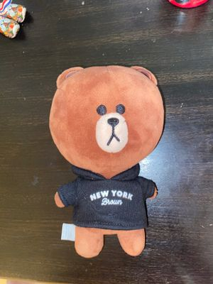 NY Brown Teddy Bear for Sale in Elk Grove Village, IL