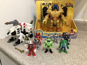 Imaginext Power Rangers w/White Tiger for Sale in Lakeside, CA