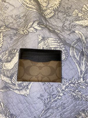 Coach card holder for Sale in Kissimmee, FL