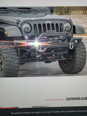 Rough County Front Bumper for Sale in Revere, MA