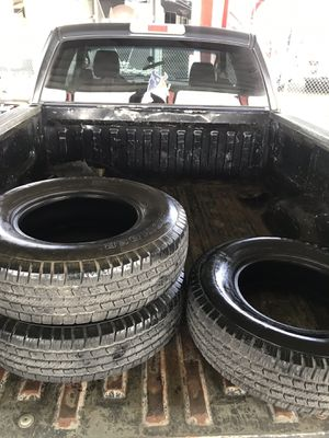 3 trailer tires st235/80r16 for Sale in Baytown, TX