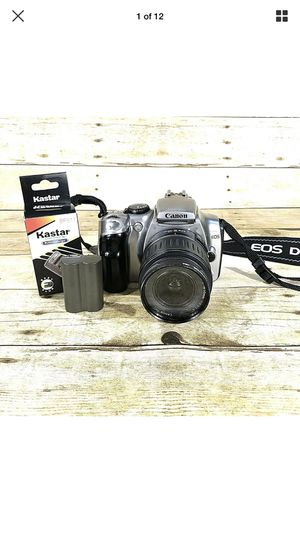 Canon Digital Rebel EOS DSLR Camera DS6041 w/ 18-55mm EF-S Lens Strap & Battery for Sale in Palmdale, CA