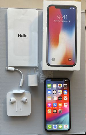 iPhone X 256GB for Sale in Wichita, KS