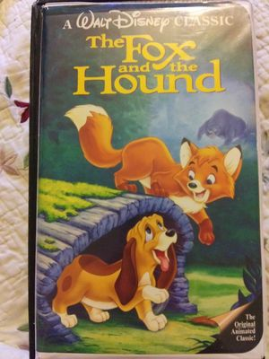 Walt Disney's The Fox and The Hound Black Dimond Classics for Sale in St. Louis, MO