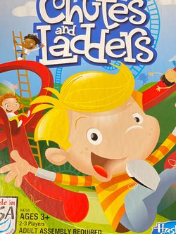 Chutes and Ladders Classic Family Board Game, Game for Kids Ages 3 and up for Sale in Boca Raton,  FL