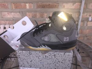 OFFWHITE 5 DS SIZE 5.5 for Sale in Norridge, IL