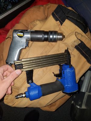 Air compressor drill, polisher, and nail gun. for Sale in Weldon Spring, MO