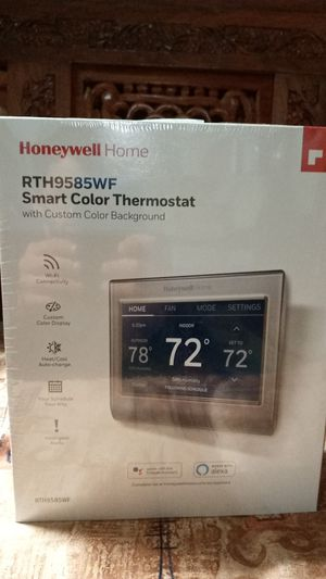Honeywell Home Smart Color Thermostat for Sale in Edison, NJ