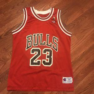 Vintage Michael Jordan Bulls 1991 Champion 44 Basketball Nba Travis Supreme for Sale in Richmond, VA